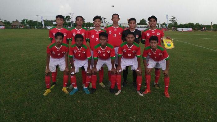 Timnas U-16 Pelajar di Turnamen Bintang (dok.Kemenpora)