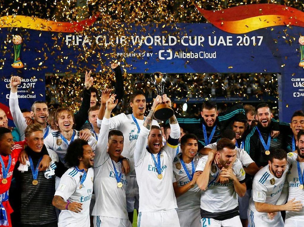 Pesta Kelima Real Madrid di Sepanjang Tahun 2017