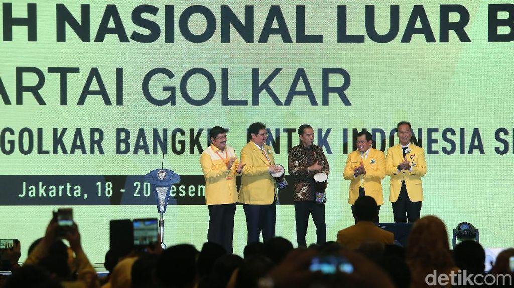 Presiden Jokowi Buka Munaslub Golkar