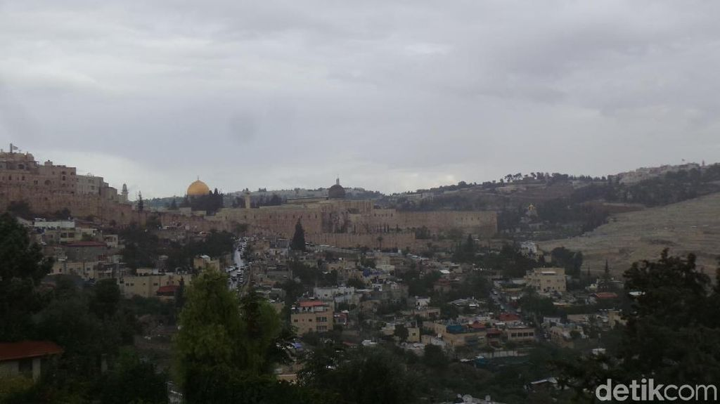 Foto: Yerusalem, Kisah Satu Kota Tiga Agama