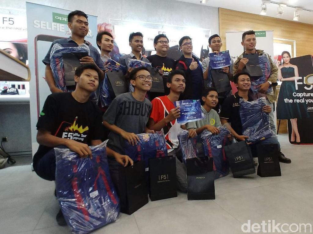 Ini Pemenang Kompetisi Oppo F5 x AOV Bandar Lampung