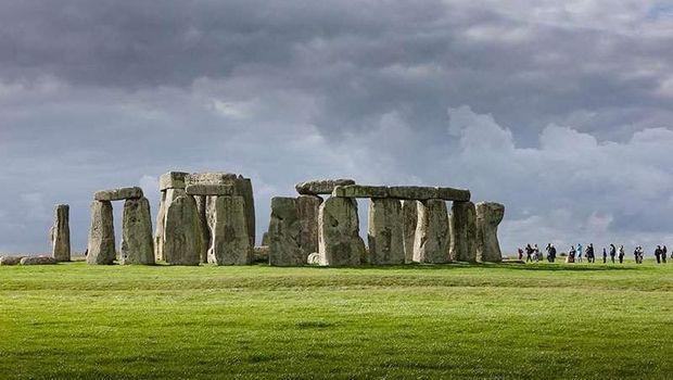 Monumen Stonehenge di Inggris