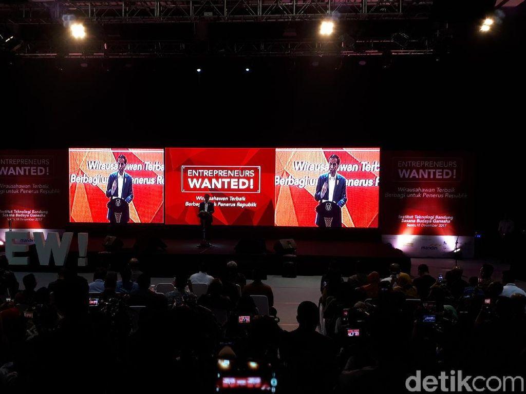 Dicurhati Pengusaha Remaja, Jokowi: Saya akan Beri Modal