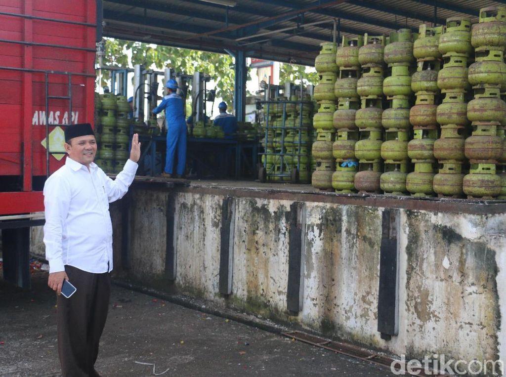 Elpiji 3 Kg di Aceh Besar Tembus Rp 40.000, Bupati Sidak SPPBE