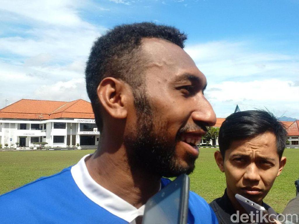 Patrich Wanggai Tinggalkan Persib Bandung
