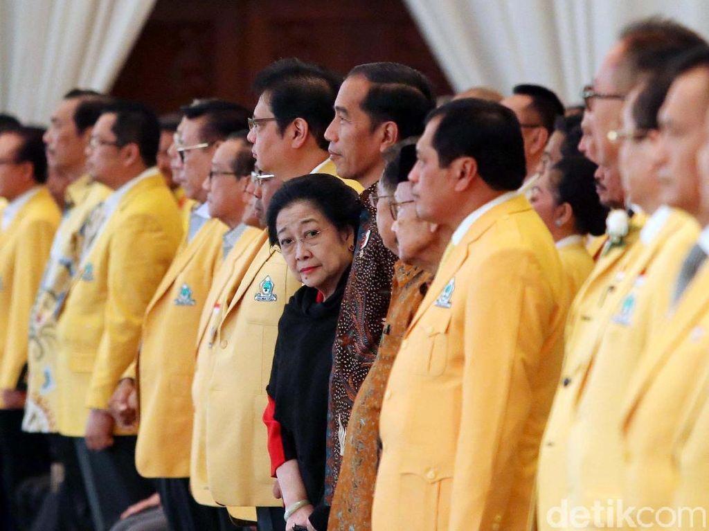 Megawati Hadiri Munaslub Golkar