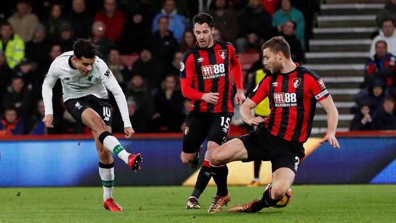 Turun Minum, Liverpool Memimpin 3-0 atas Bournemouth