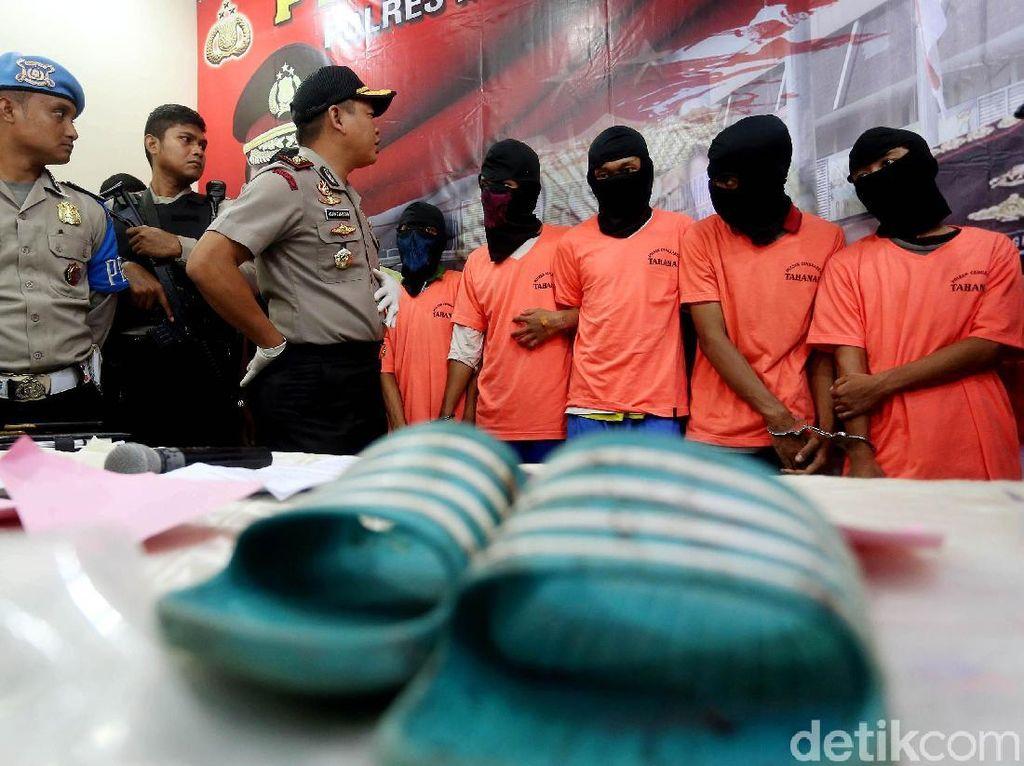 Polisi Tangkap Lima Pelaku Pengroyokan di Cengkareng