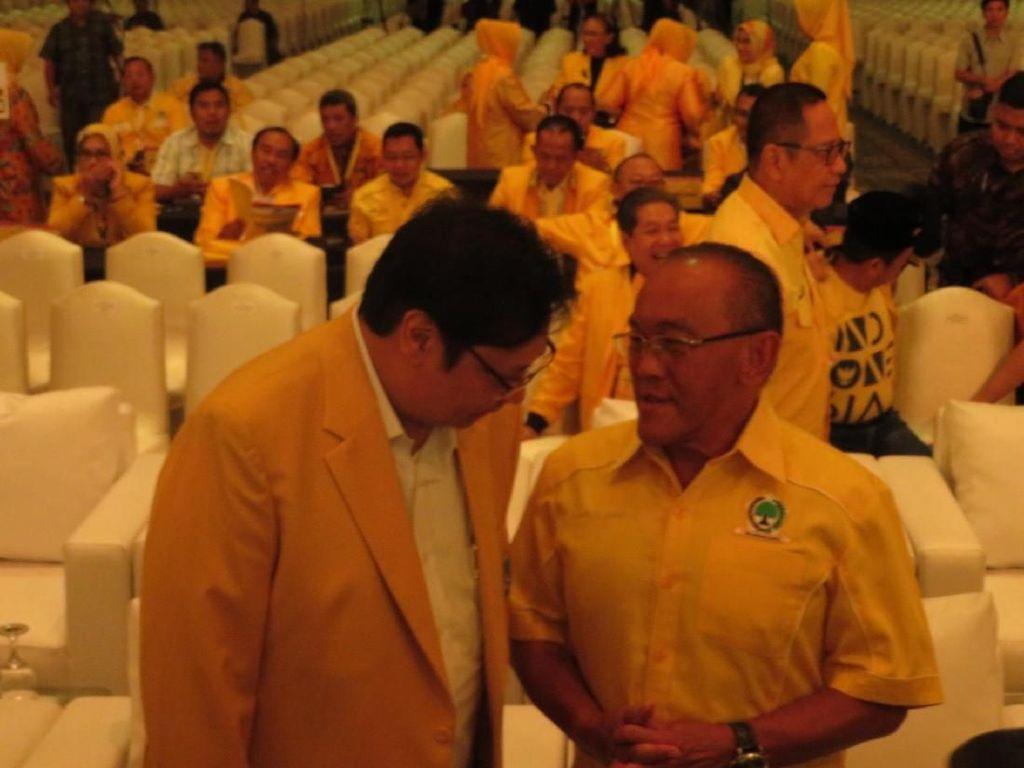 Ical: Airlangga Berhak Rombak Pengurus DPP Golkar