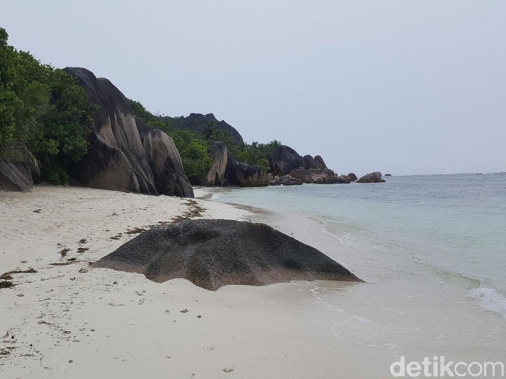 Foto: Ajaibnya Pulau La Digue dari Seychelles, Afrika
