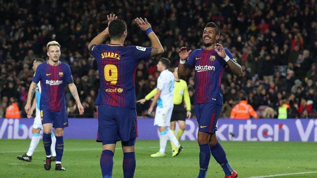 Barca Gasak Deportivo 4-0 di Camp Nou