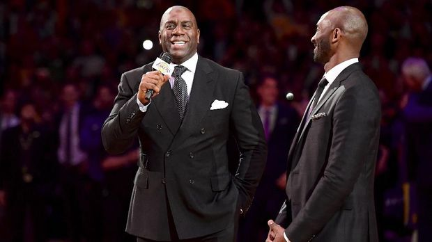 Rivalitas dengan Larry Bird, Perayaan Sukses Magic Johnson