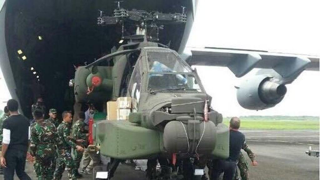 Foto: Ini Helikopter Tempur Apache TNI AD yang Didatangkan dari AS