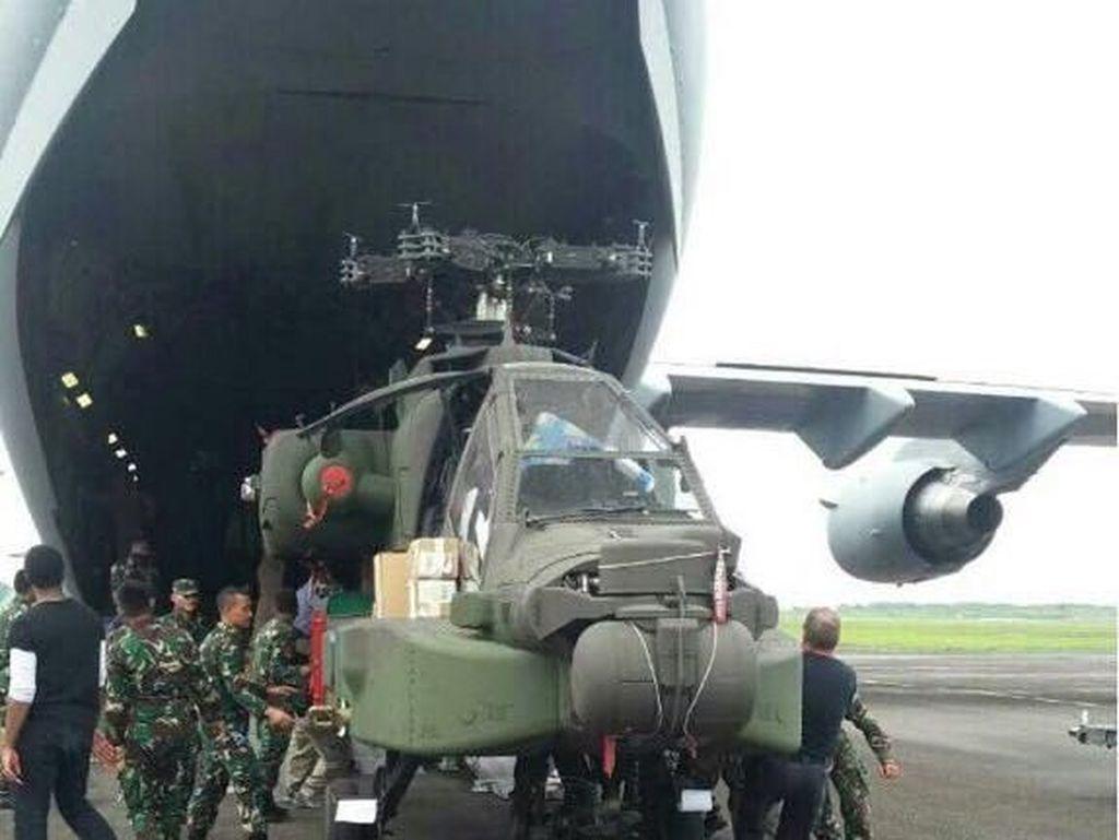 TNI: Ada 2 Pilot Terlatih untuk Kemudikan Heli Apache