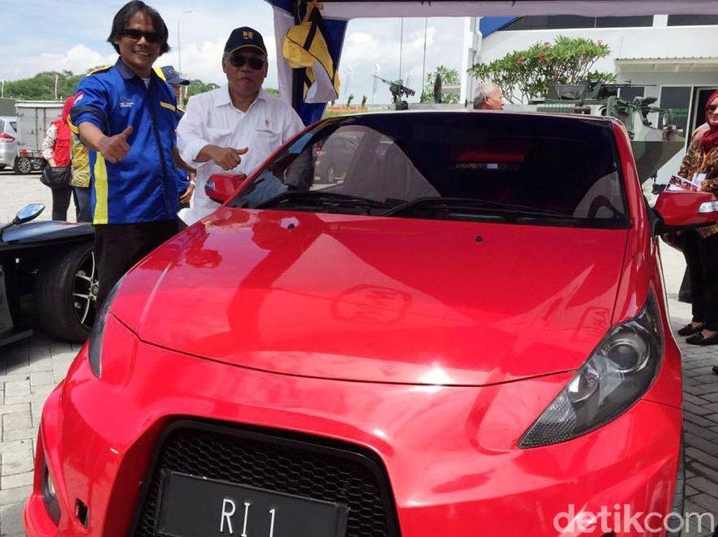 Mobil Listrik Buatan ITS Ini akan Dipakai Jokowi di Tol Sumo