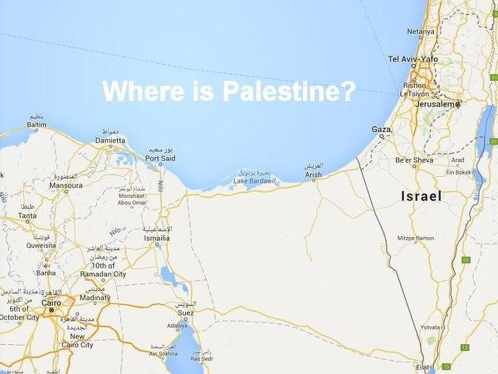 Netizen Protes Palestina Tak Ada di Google Maps dan Apple Maps