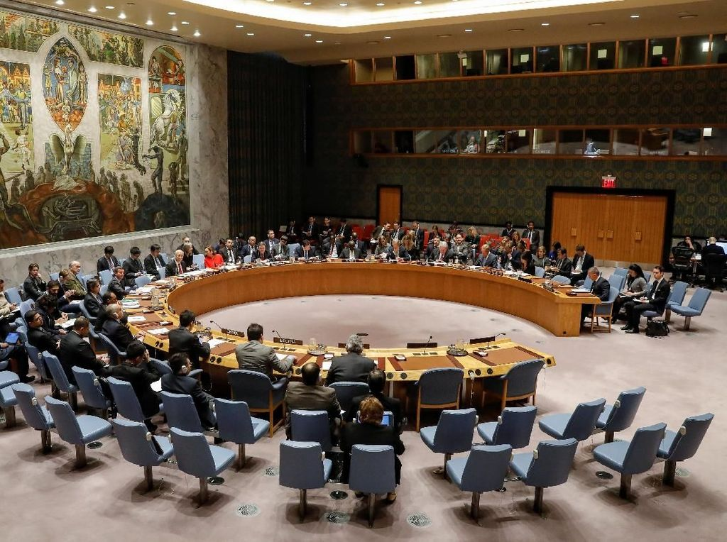 Momen AS Veto DK PBB yang Tolak Akui Yerusalem Ibu Kota Israel