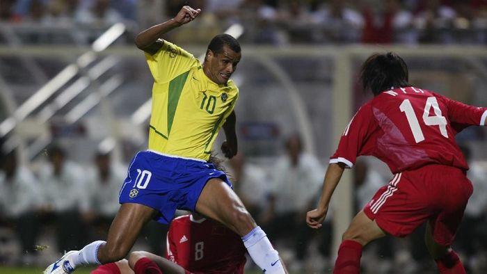 Rivaldo berhasil memenangi Ballon dOr pada 1999, Liga Champions 2002/2003, dan Piala Dunia 2002. (Foto: Denis Doyle/Getty Images)