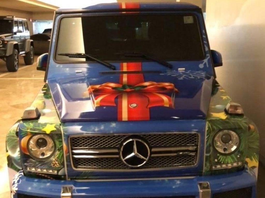 Justin Bieber Dekorasi Mobil Mahal Jadi Mirip Pohon Natal