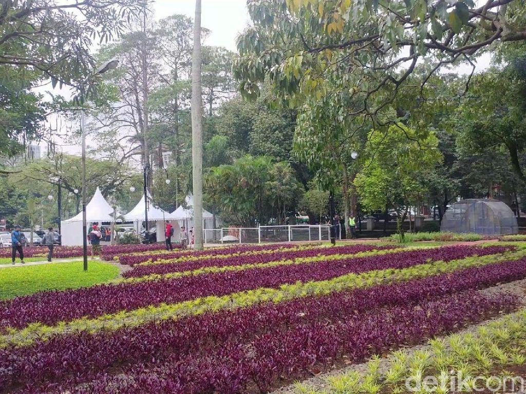 Taman Dewi Sartika dan Badak di Balkot Bandung Makin Cantik