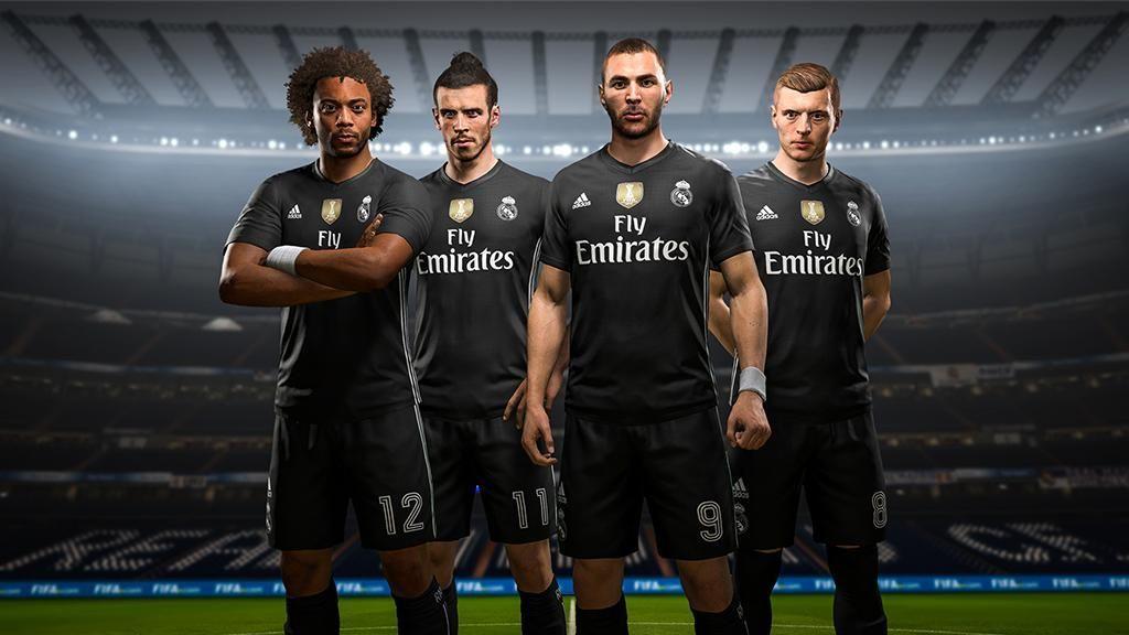 Kostum Istimewa Madrid dan MU di FIFA 18