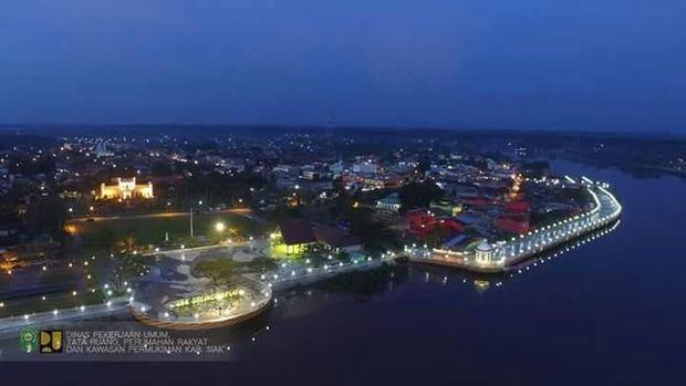 Cantiknya Siak, Kota Pusaka Pewaris Kerajaan Islam di Riau