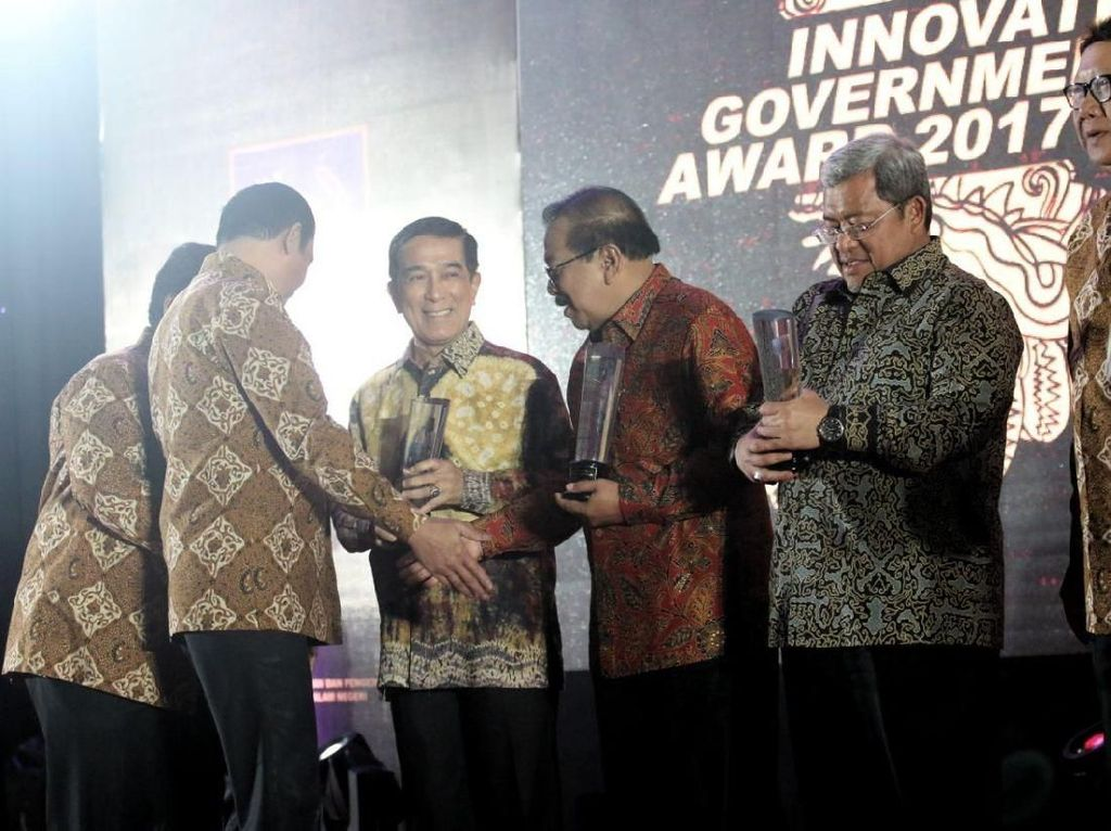 Punya Banyak Inovasi, Sumsel Raih Inovative Government Award 2017