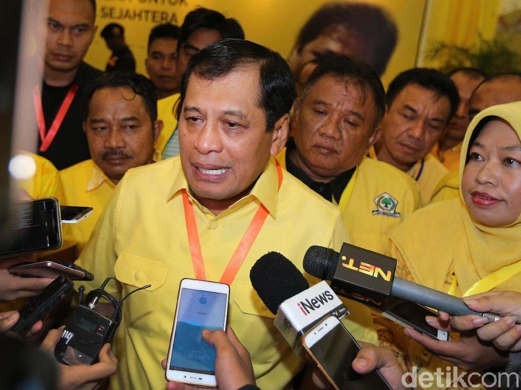 Nurdin Halid Diminta Airlangga Urus DPP, Golkar Sulsel Cari Pengganti