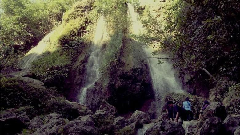 Foto: Air terjun Srigethuk di Yogyakarta (Sandi Noor/dTraveler)