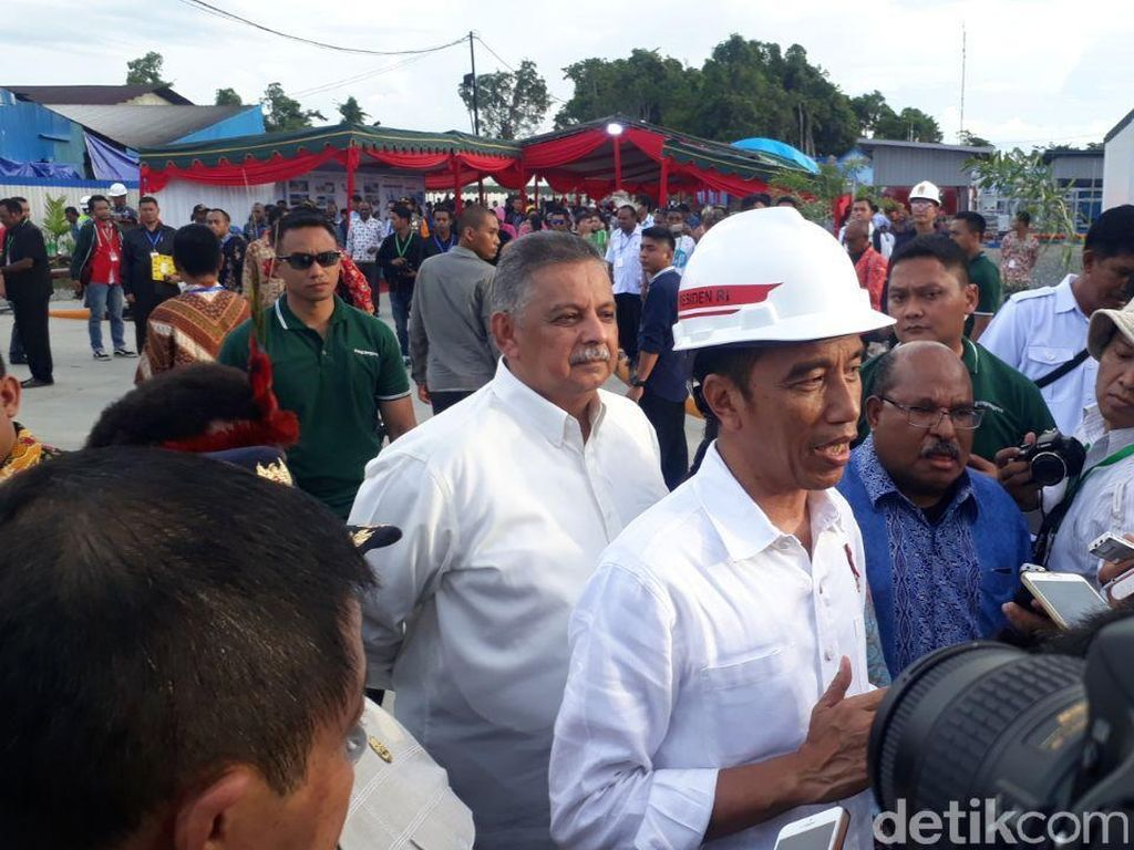 Jokowi: 2.000 Desa di Papua Belum Berlistrik