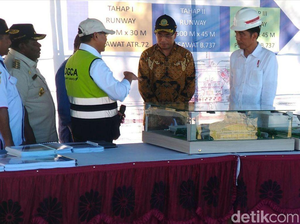 Jokowi: Bandara Nabire akan Hubungkan 8 Kabupaten di Papua
