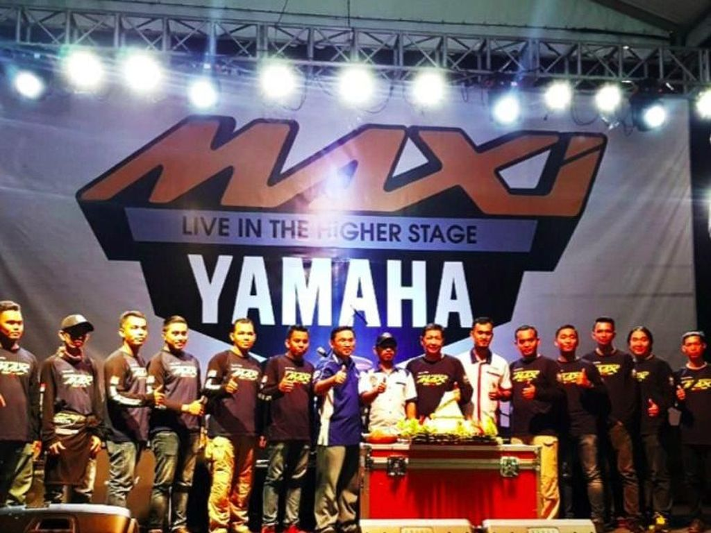 MAXI Yamaha Jadi Favorit di Kalimantan