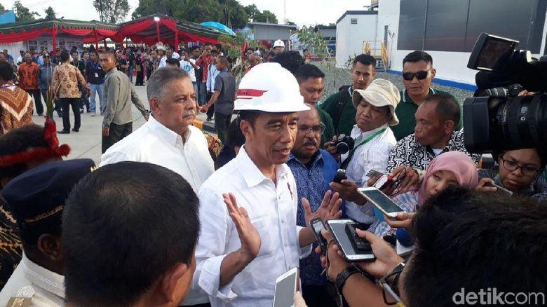 Soal Bangun Papua, Jokowi: Kalau Jawab Pak Mahal Saya Marahi