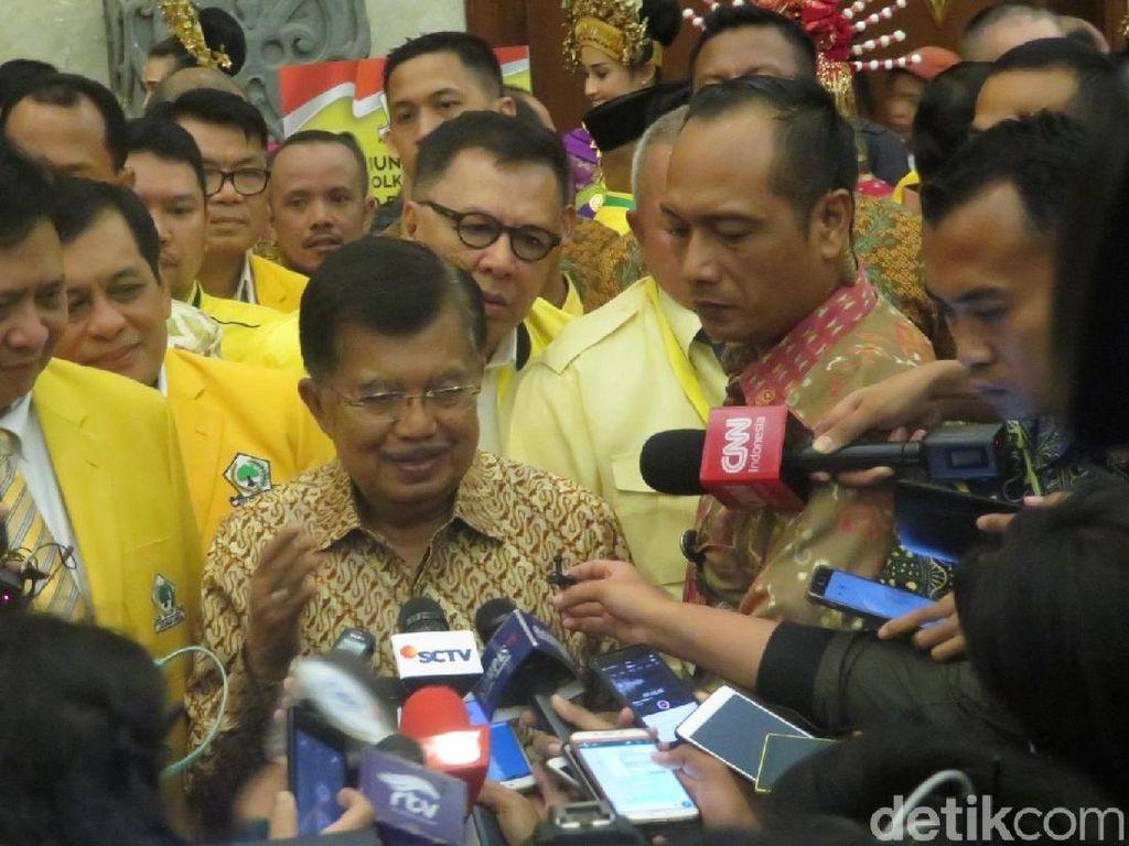 Mutasi 16 Pati Dianulir, Wapres JK: Itu Masalah Internal TNI