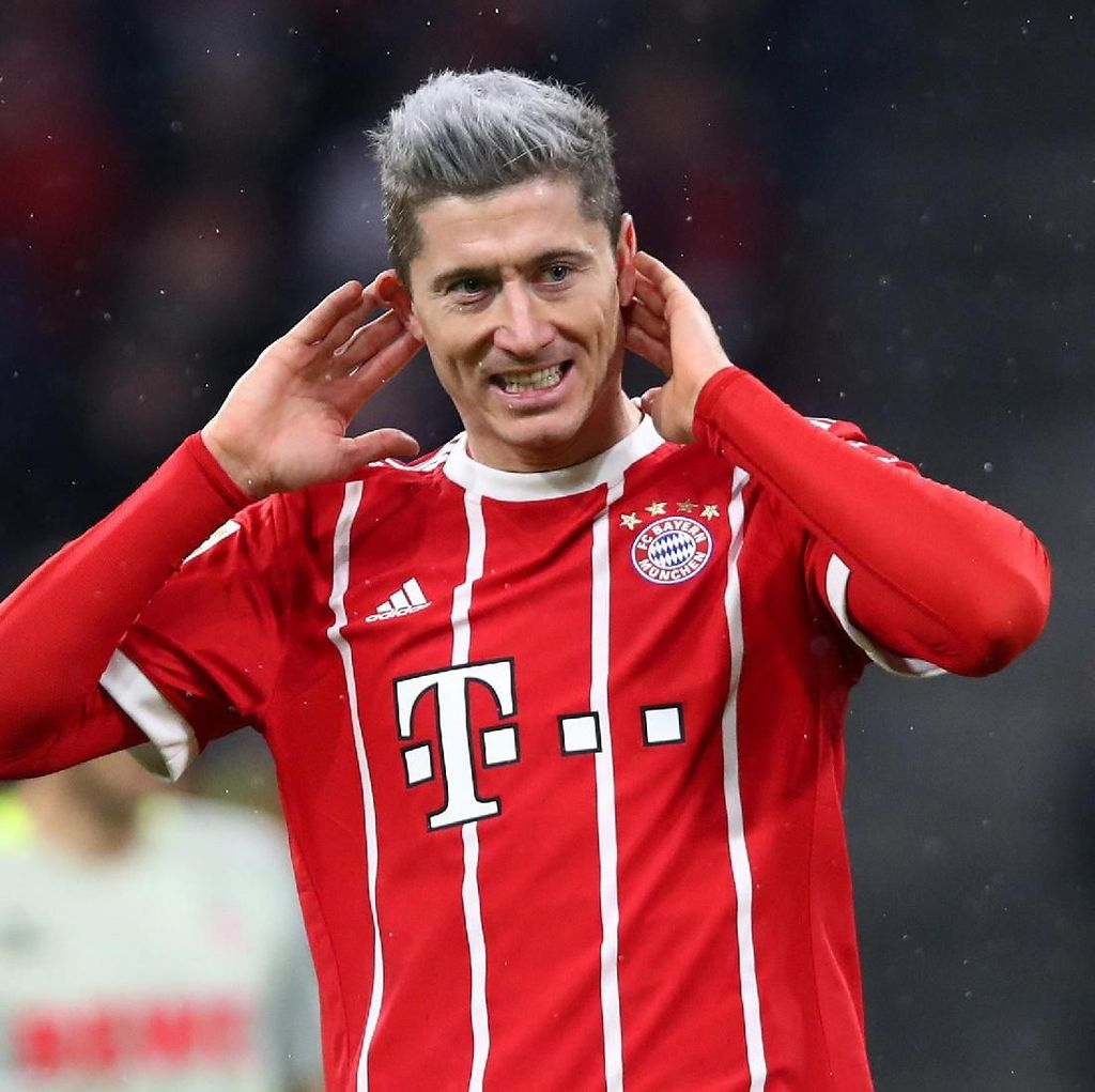 Lewandowski soal Rumor Transfer yang Itu-itu Saja