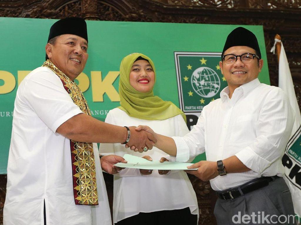 PKB Dukung Arinal-Chusnunia di Pilgub Lampung