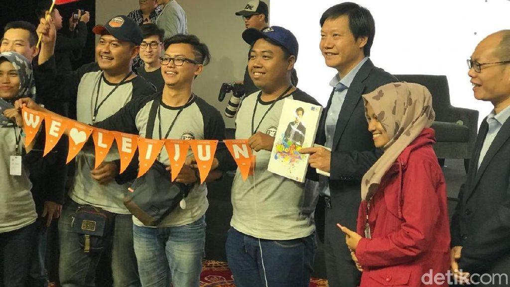 Bos Xiaomi Ultah, Mi Fans Indonesia: We Love Lei Jun