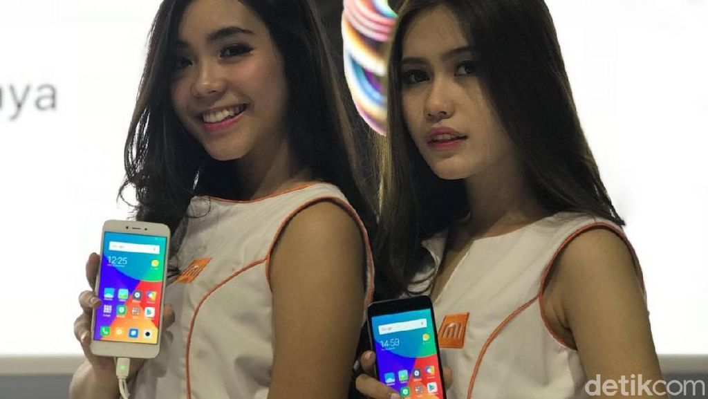 Penampakan Ponsel Murah Xiaomi #Redmi5A di Jakarta
