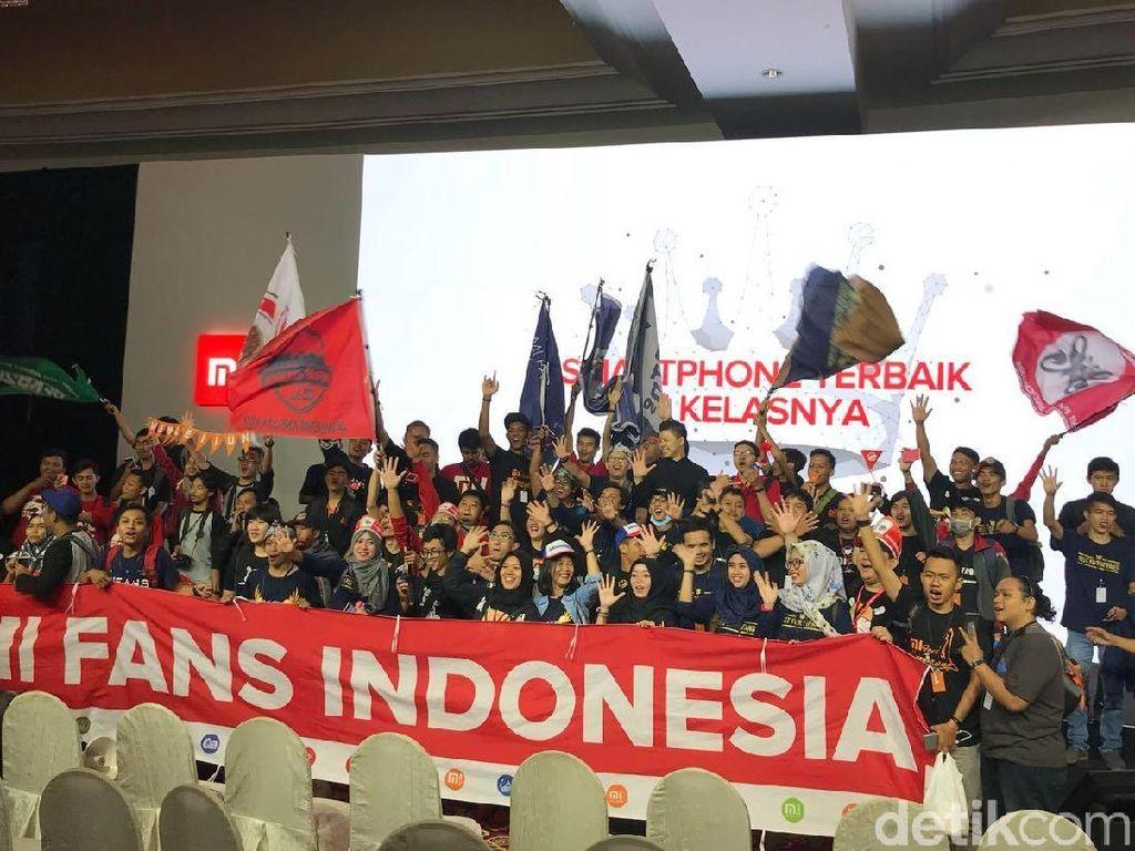 Komunitas Mi Fans di Indonesia Tembus 300 Ribu Anggota