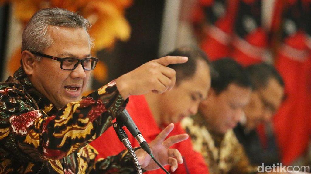 Ketua KPU Paparkan Persiapan Pilkada di Depan Kader PDIP