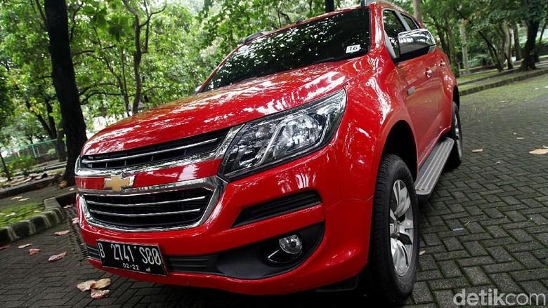Chevrolet Trailblazer Foto: Muhammad Ridho