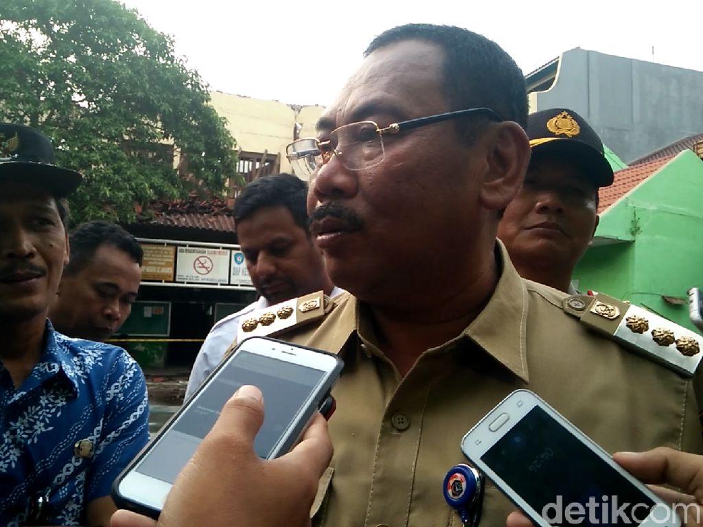 Walkot Jakbar: Bangunan SMPN 32 Tambora yang Ambruk akan Dibongkar