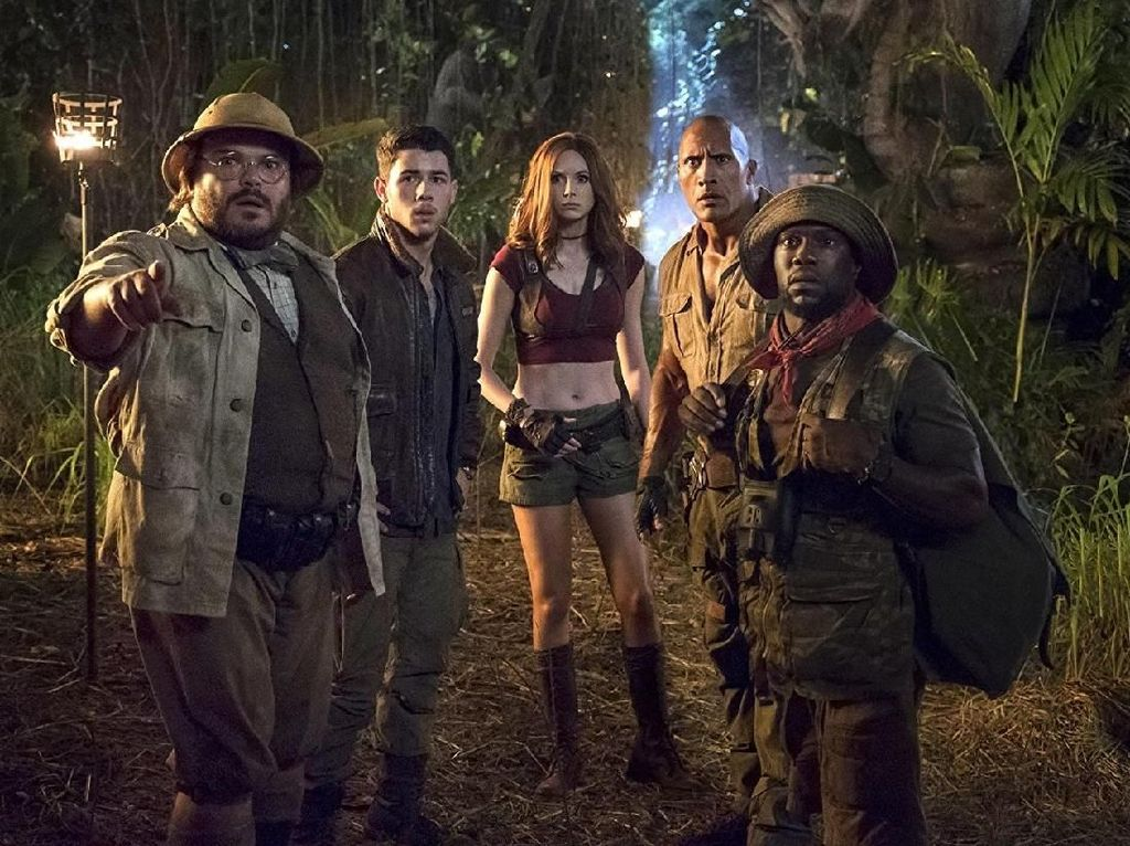 Jumanji: Welcome to the Jungle Kembali di Puncak Box Office