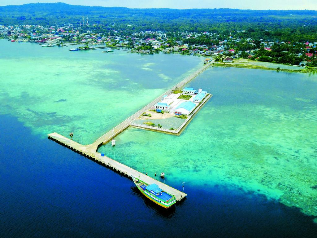 Foto: Ini Lho Deretan Pelabuhan Tol Laut Jokowi