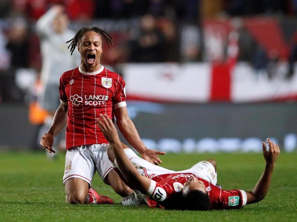 Sudah Tumbangkan 4 Tim Premier League, Bristol Tak Gentar di Hadapan City