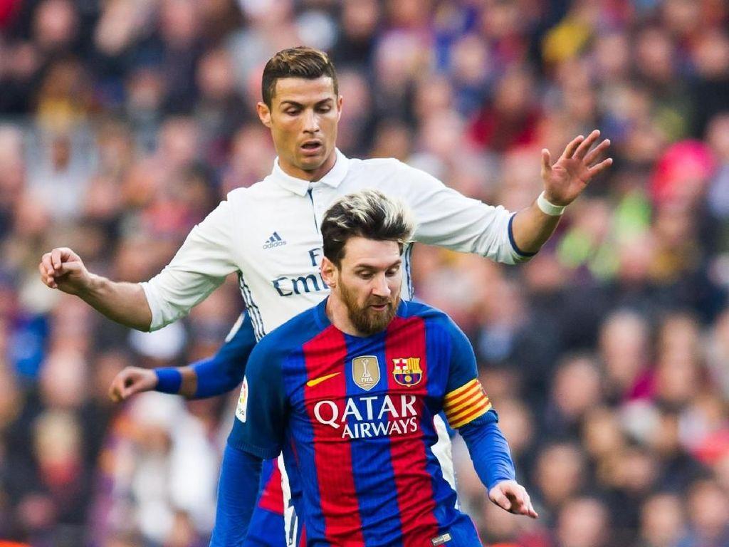 Di El Clasico, Messi Lebih Baik Ketimbang Ronaldo