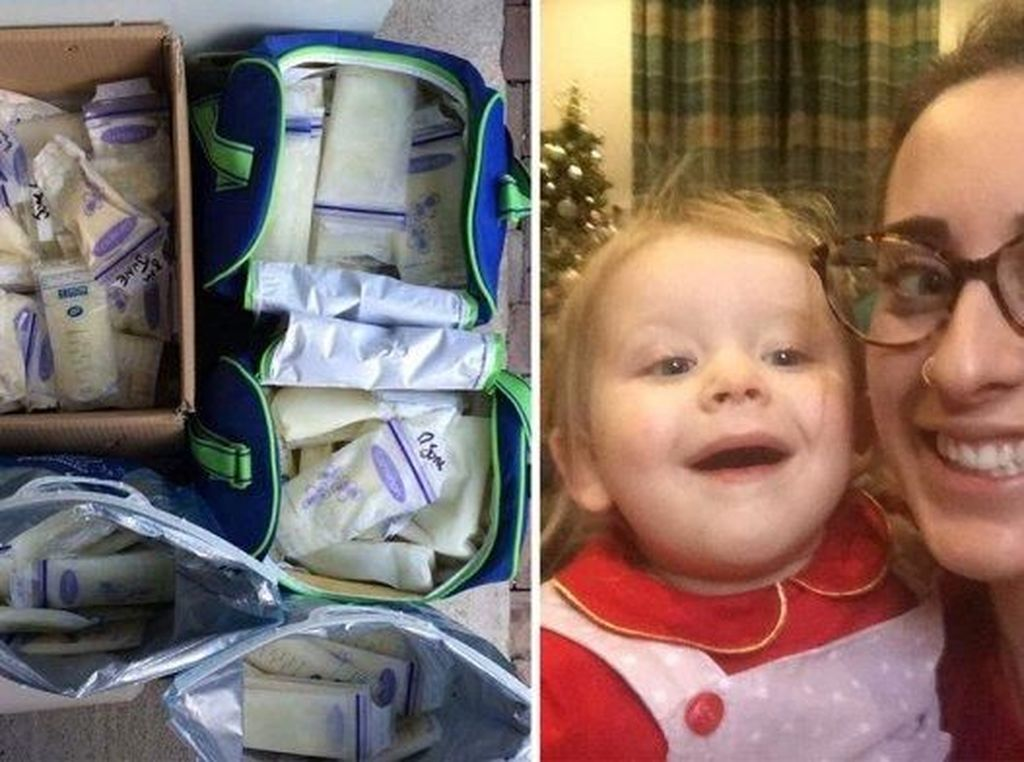 Salut! Ibu Ini Sumbangkan ASInya Untuk 20 Keluarga di Inggris