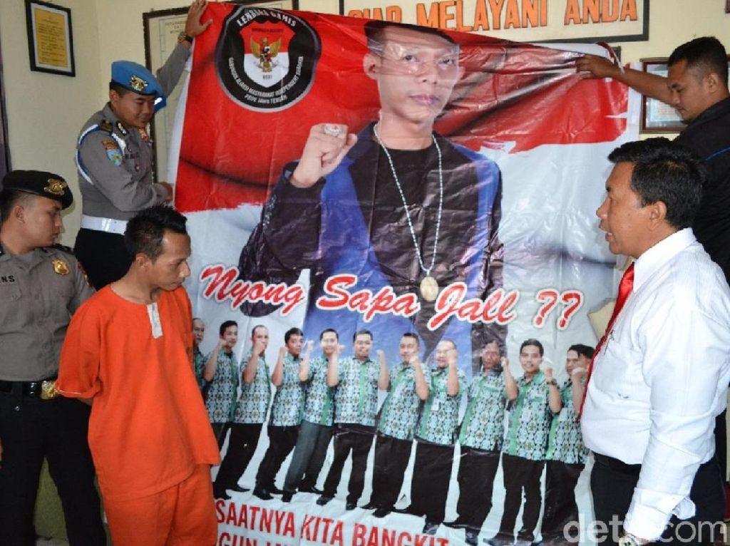 Sosok di Baliho Nyong Sapa Jal, Ditangkap Polisi Karena Menipu