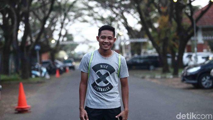 Evan Dimas kembali dipanggil ke timnas U-23 (Foto: Grandyos Zafna/detikSport)