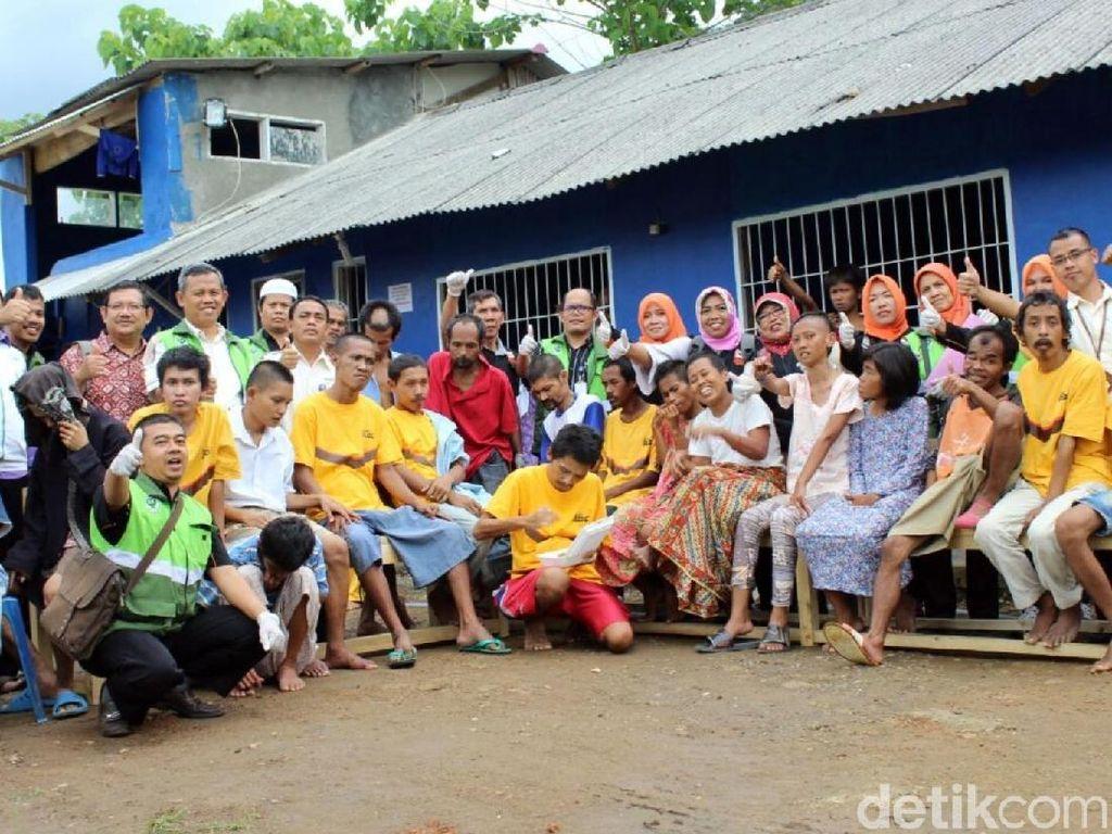 Penderita Gangguan Jiwa yang Dilepas Deni Solang Kembali ke Panti